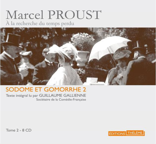Sodome et Gomorrhe T.2 - version 8 CD - livre lu