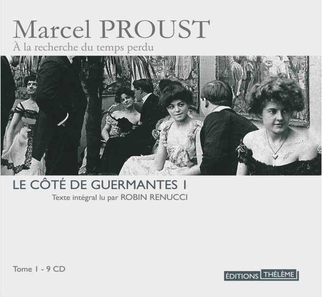 Le côté de Guermantes T.1 version 9 CD  - livre lu