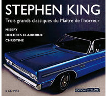 Livre audio - Coffret Stephen King