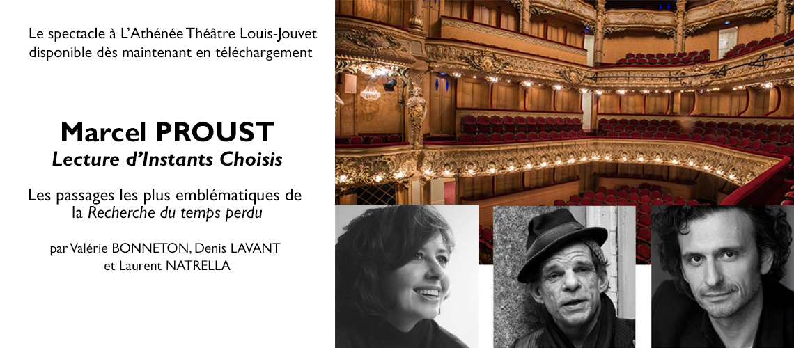 Spectacle Proust